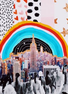 New York City collage Collage Foto, Art Du Collage, Photo Wall Collage, Picture Wall, City Collage, Poster Collage, Art Collages, Love Collage, Collage Vintage