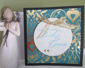 Wedding card-Handmade