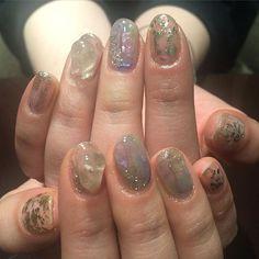 yuki_oishi_222_ #nail #nails #gelnail #design #art #love #like #true #future #blue #gold #shell #l4l #lforl #ネイル #ジェルネイル #アートネイル #金箔 #金箔ネイル #天然石ネイル #天然石 #ホイルネイル #シェル #シェルネイル #渋谷 #原宿 #銀座