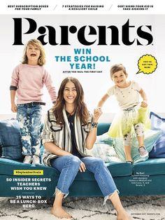 Parents magazine redesign...