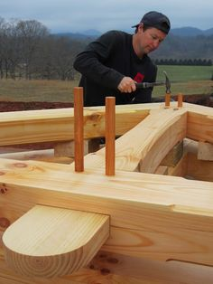 ( Heirloom Timber Framing )   Gus C.:                                                                                                                                                     More