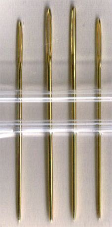 Cross Stitch Tools - Tapestry Needles and More: Special Coatings Applied to Some Tapestry Needles