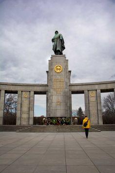 Berlin en familia. Memorial de guerra soviético