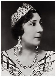 Princess Chivekiar Ibrahim (1876-1947), First Wife of King Fouad I Of Egypt