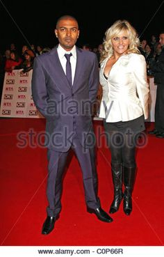 Noel Clarke and Camille Coduri National Television Awards 2008 held at the Royal Albert Hall - Arrivals London, - Stock Photo