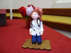 Médica em biscuit https://www.facebook.com/pakukahandmade?ref=hl