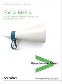 Social Media CRM: Enabling Relevance at Scale -- Summary - Accenture Storytelling, Insight, Infographic, Accenture Digital, Pdf, Social Media, Enabling, Summary, Ecommerce