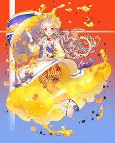 オランジーナ擬人化イラストコンテスト | オランジーナ | みえこ 小野咩子 | http://www.pixiv.net/info.php?id=1771
