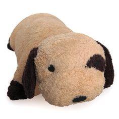 Greenlatex Thailand Natural Latex Dog Doll Pillow Brown
