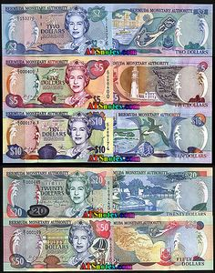 bermuda  money   Bermuda banknotes - Bermuda paper money catalog and Bermudian currency ...