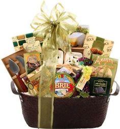 Alder Creek Italian Bronze And Sage Food Gift Basket 12 Pc Savory Italian Best #AlderCreekGiftBaskets