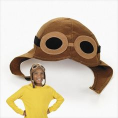 Black Friday Brown Felt Classic Aviator Hat Kid's Halloween Costume Accessory from Fun Express Cyber Monday Costume Hats, Girl Costumes, Adult Costumes, Costume Ideas, Children Costumes, Mermaid Costumes, Clever Halloween Costumes, Halloween Costume Accessories, Kid Halloween