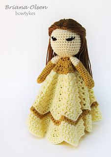 Ravelry: Pretty Princess Lovey pattern by Briana Olsen