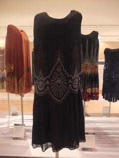 1920s beaded dress, gosport gallery, 12/12