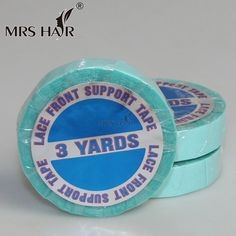 Buy Cheap 1 Roll 0.8cm*3 Yards Super Hair Blue Tape Double-sided Adhesive Tape For Hair Extension/ Lace Wig/toupee Delicacies Loved By All Tools & Accessories