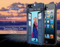 Tardis Disney Frozen Anna Samsung Galaxy S3/ by MasterInnovation, $13.79