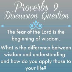 Proverbs9