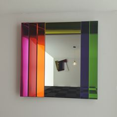 Shop SUITE NY for the Gli Specchi di Dioniso mirrors designed by Ettore Sottsass for Glas Italia and more modern mirrors, iconic Italian design and colorful mir