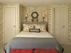 sweet bedroom in Litchfield, Connecticut ~ design by Philip Gorrivan
