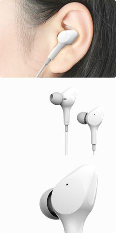 Earphone makers may have managed to cancel out the noise but they've yet to cancel out the ugly! Wearable Device, Wearable Technology, Technology Gadgets, Wireless Headphones, In Ear Headphones, Robot Design, Gaming Headset, Bicycle Design, Sound Design
