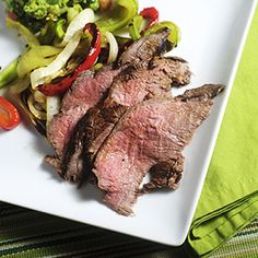 Citrus Marinated Flank Steak. Nothing compares to a perfectly grilled Flank Steak, especially when flavored with citrus and chili!