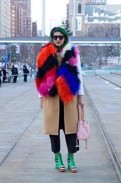 Street Style From NYFW Day 6: Miroslava Duma, Alexa Chung, More | StyleCaster