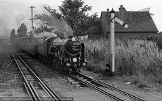 Dymchurch, Miniature Railway c.1955, from Francis Frith