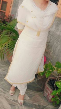 chahal Classic Indian salwar kemeez CLICK Visit link for more details Indian Designer Suits, Indian Suits, Indian Attire, Indian Wear, Salwar Dress, Punjabi Salwar Suits, Patiala Salwar, Anarkali, Punjabi Fashion