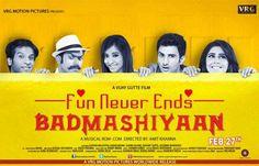 Badmashiyaan Full Movie Watch DVDSCR Online Free andBadmashiyaan (2015) Full Movie Direct Download free. You can alsoBadmashiyaanMovie DVDSCR Torrent Download Free.Badmashiyaan Hindi Movie MP4 Dow