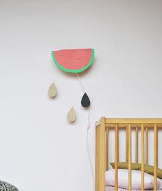 Best Wandleuchte WASSERMELONE WassermeloneFassungKinderzimmerMaterial Kinderzimmer