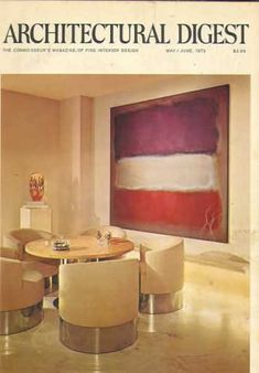 Architectural Digest - May 1972