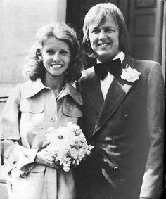 Ronnie Peterson and Barbro.
