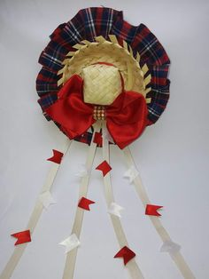 Fika, Ribbon Hair, 4th Of July Wreath, Diy And Crafts, Alice, Bows, Wreaths, Holiday Decor, Hillbilly Party