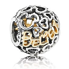Mickey Mouse ''Believe'' Charm by PANDORA