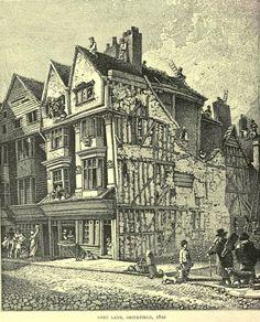 Long Lane, Smithfield 1810