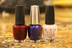 perfect nail colors for the holidays!
