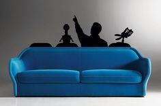 MST3K Wall Decal by Walking Dead Promotions on Etsy.