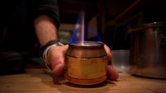 How To Turn A Beer Can Into The Only Camping Stove You'll Ever Need on Vimeo