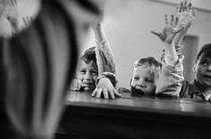 Rene Burri School for Deaf-Mute Children 1959