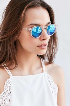 9b4142126ff Clear Sky Round Sunglasses