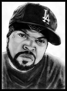 Ice Cube. 5 hours of work.