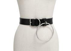 9410b3565 Orleena Belt ( Black + Silver ) from CREEPYYEHA