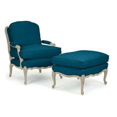 Bergere Chair - like our pale aqua chair that was so comfy & sleep-inducing