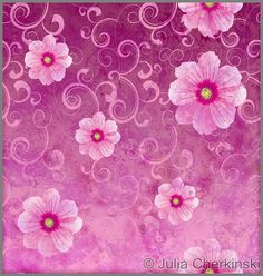 pink vintage background | pink flowers romantic spring vintage background, love and cute ...