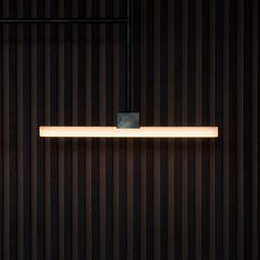 NÆRVÆR, wine bar and restaurant in Copenhagen, by Norm Architects. Wine Bar Restaurant, Restaurant Design, Linear Lighting, Lighting Design, Wood Interior Design, Interior Ideas, Contemporary Building, Custom Lighting, Lamp Design