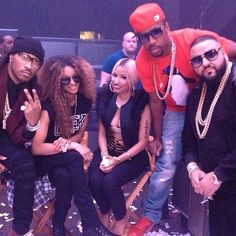 "Future + Ciara + Nicki Mkianj + SB + DJ Khaled = ""I Wanna Be With You"" video shoot"