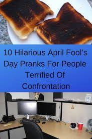 10 Hilarious April Fool's Day Pranks For People Terrified Of Confrontation World 2020, April 10, April Fools Day, Pranks, The Fool, Hilarious, Halloween Diy, Halloween Decorations, Pallet