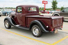 1935 Ford Pickup Truck Street Rod (9 of 10) by myoldpostcards, via Flickr