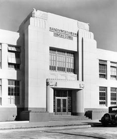 Francis Scott Key School, San Francisco, California Historic 1949 Photo
