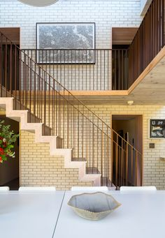 Award winning extension and refurbishment of an extraordinary Grade II Listed residence, set in a beautifully preserved Georgian square in East London.